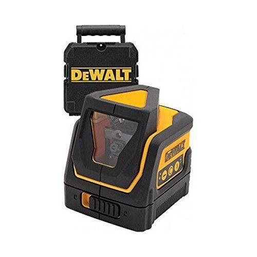 Dewalt Dw0811 Cross Line Laser Vertical Horizontal Beams Dewalt Dewalt Power Tools Laser Levels