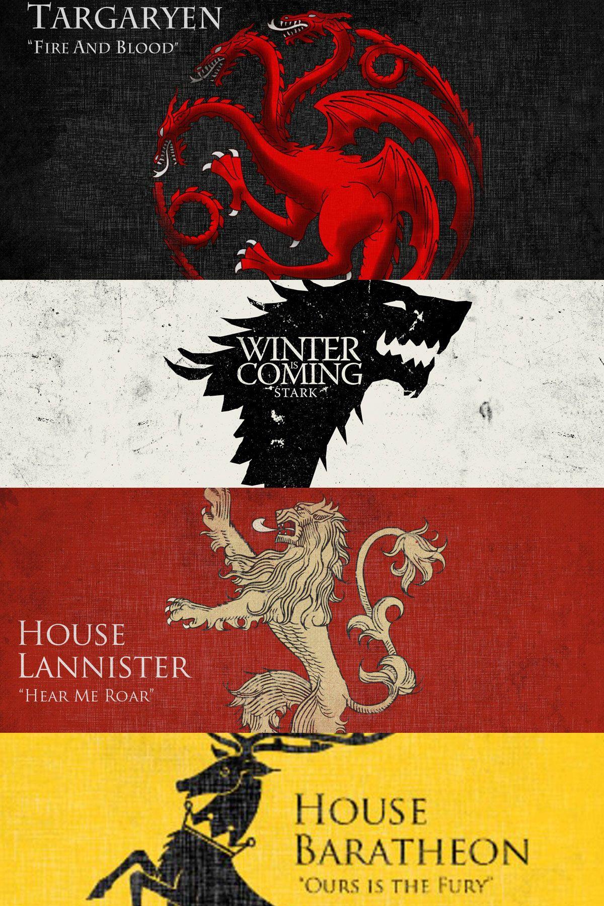 Häuser Game Of Thrones