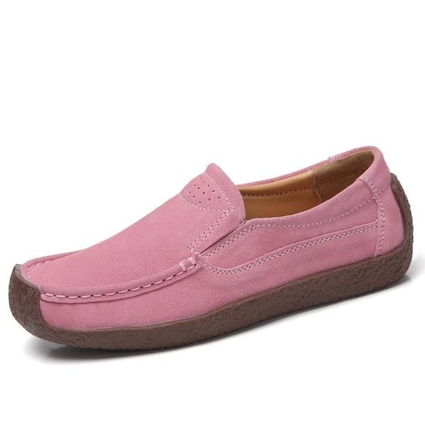 Mens Loafers Driving Moccasins Lace Up Flats Male Shoes