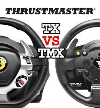 There are 5 major differences between the Thrustmaster TX