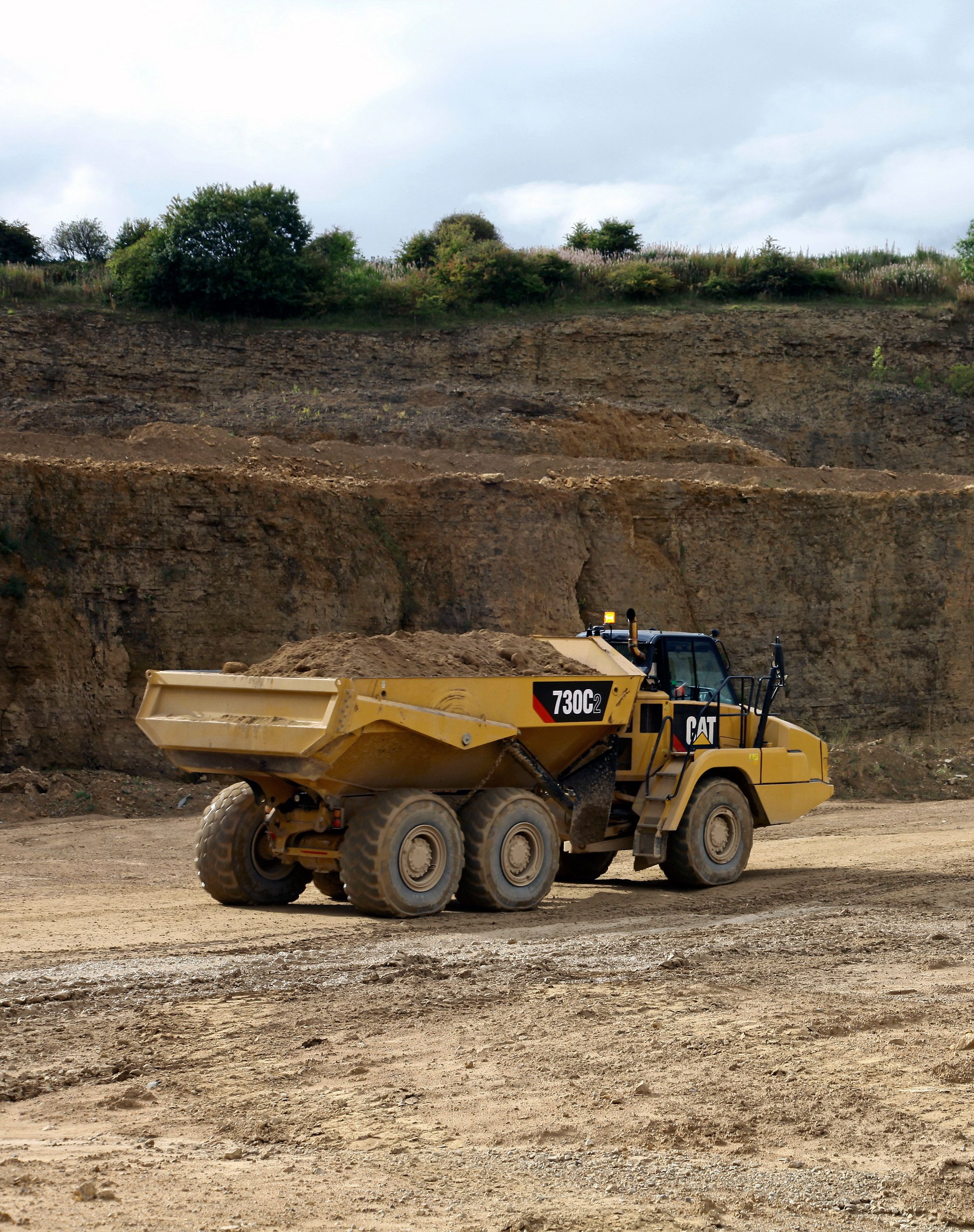 Cat C2 Series Articulated Trucks Feature More Power And Increased