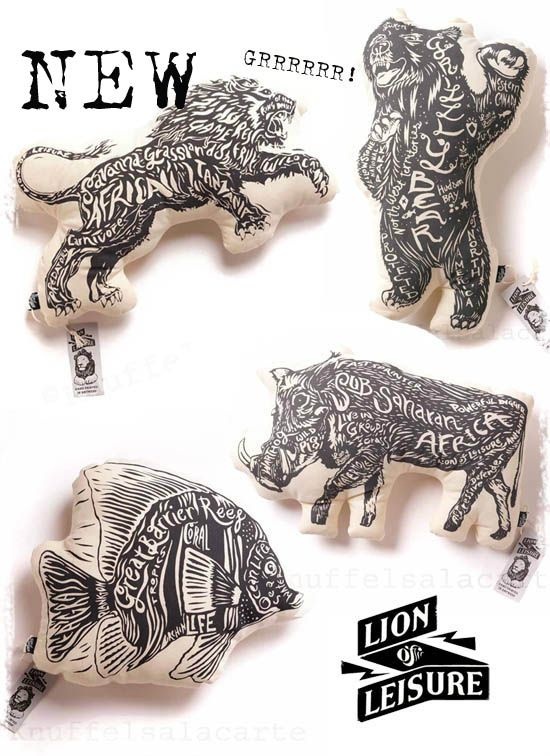 Wild things! Lion of Leisure!