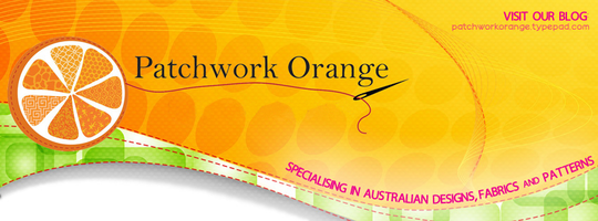 Patchwork Orange