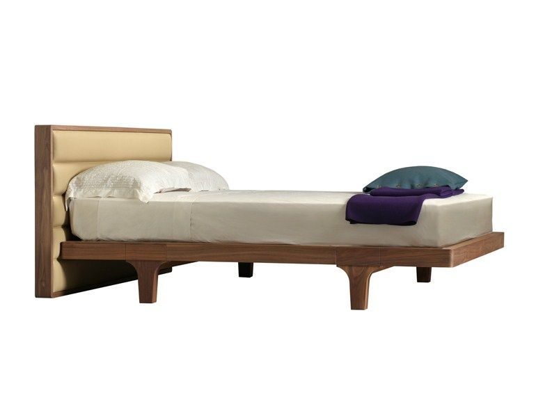 MALIBÙ Bed with upholstered headboard by Morelato design Centro Ricerche MAAM