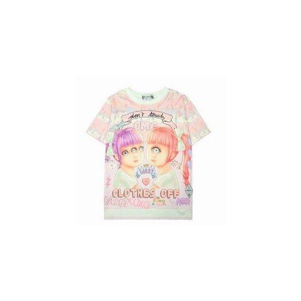 Bag: cute pink white backpack cool strawberry kawaii kawaii via Polyvore