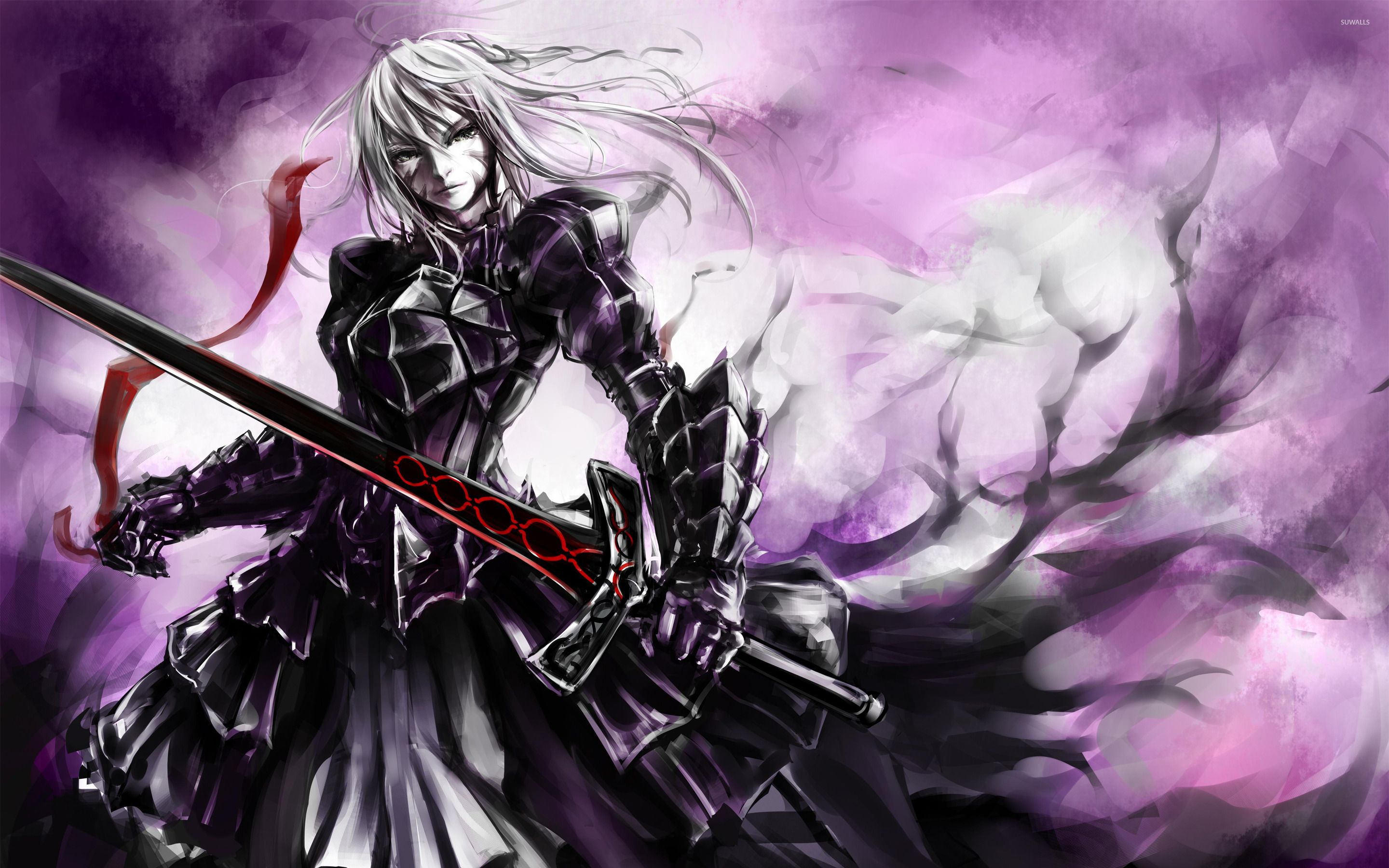 Image result for saber fate stay night Mtg vampire