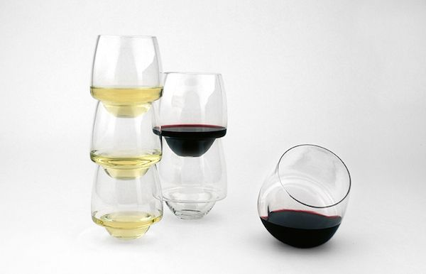 1 Stackable Non Spill Wine Glass Saturn Wine Glass Fun Wine Glasses Wine Glass