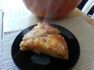 Fall Spanish Tortilla with Harissa Spiced Butternut Squash