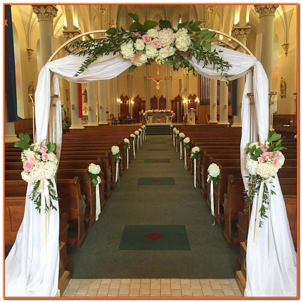 How To Easily Create The Perfect Wedding Within Your Budget Wedding Church Decor Diy Wedding Decorations Church Wedding Flowers