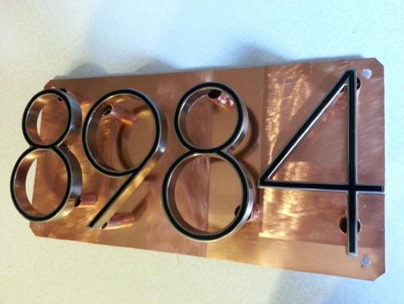 This Gorgeous Address Numbers Plaque Will Bring Elegance And Add Style And Originality To Your Home Or Business House Numbers Address Sign House Address Sign