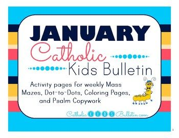 January 2017 Catholic Kids Bulletin