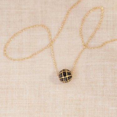 black diamond necklace three sisters jewelry design My Style