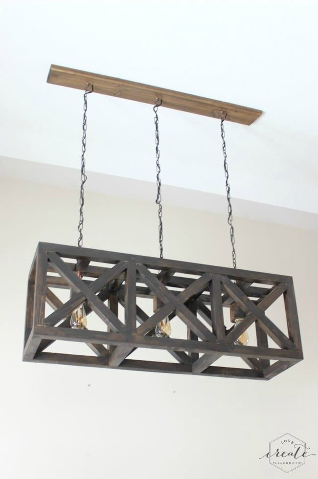 How To Make An Industrial Light Fixture Id Lights Rustic