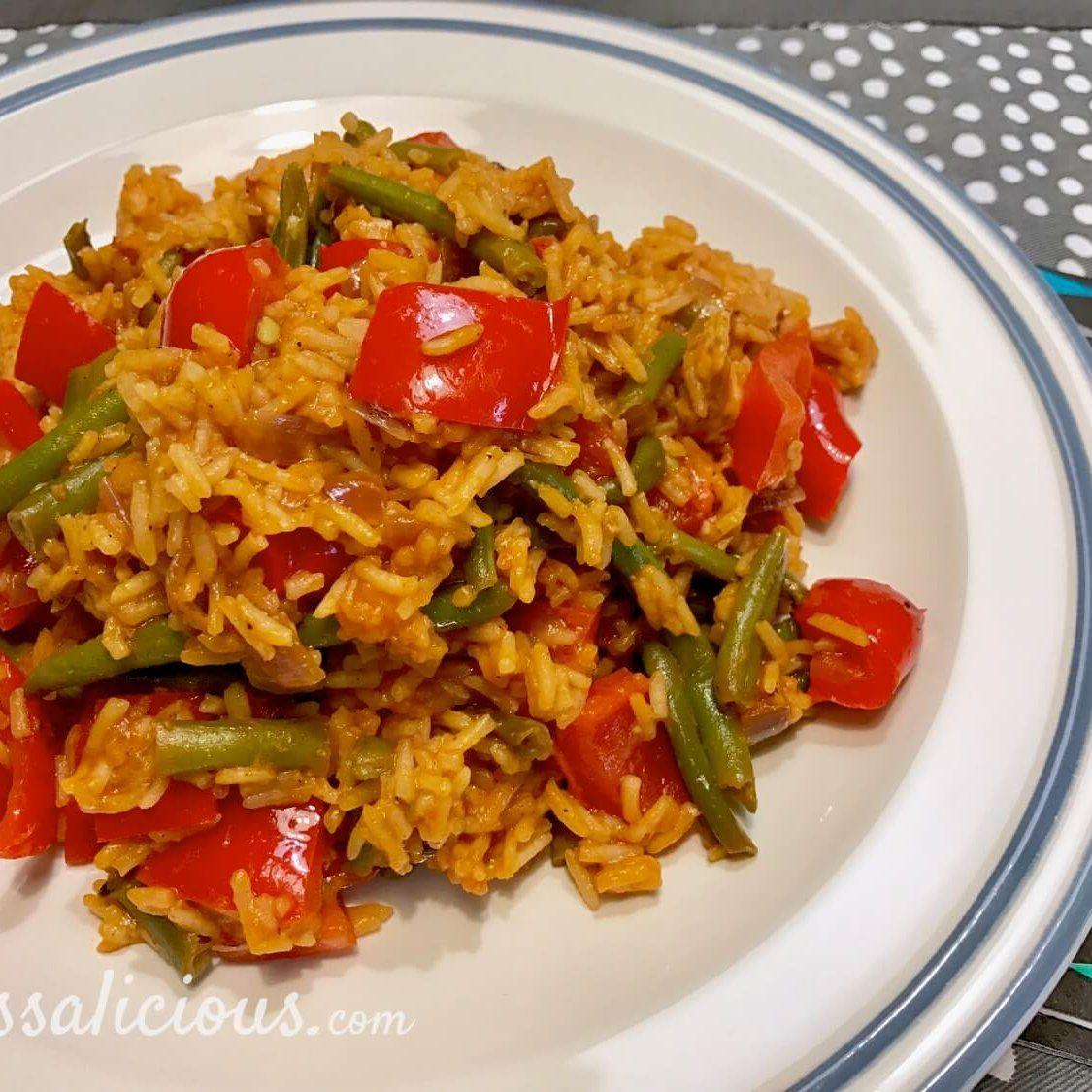 pilav-van-tomaat-sperziebonen-5