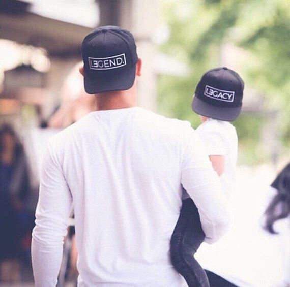 2e78e3fb960 Father and Son Hats Legend and Legacy Hats Fathers Day Gift