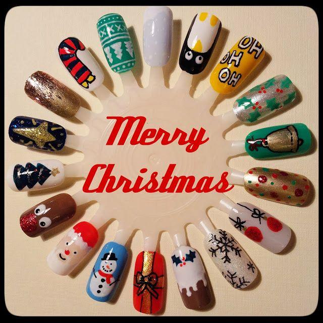 Christmas Nail Wheel   Inspiration ○ Nail art   Pinterest   Wheels ...