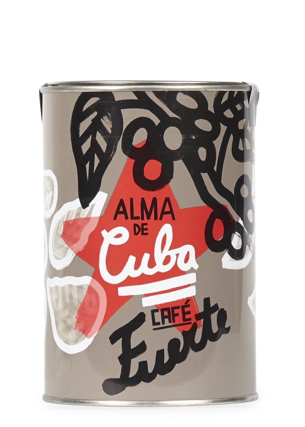 Alma De Cuba Coffee Ground In A Tin 250g Wine Recipes Luxury Food Coffee Branding