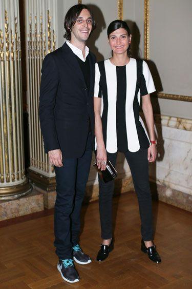 Maria Baibakova Hosts Artspaces Second Anniversary Dinner - Vladimir Restoin Roitfeld and Giovanna Battaglia in Marc Jacobs