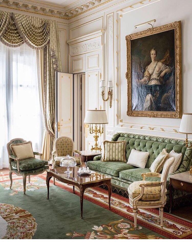 ❤ The Ritz Paris  Fabulous Furniture & Decor  Pinterest Classy French Design Living Room Decorating Inspiration