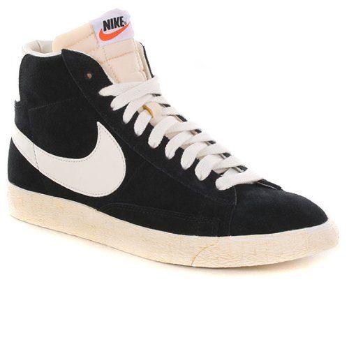 Nike Blazer High (Vntg) Black/White 375722-001 (SIZE: 11