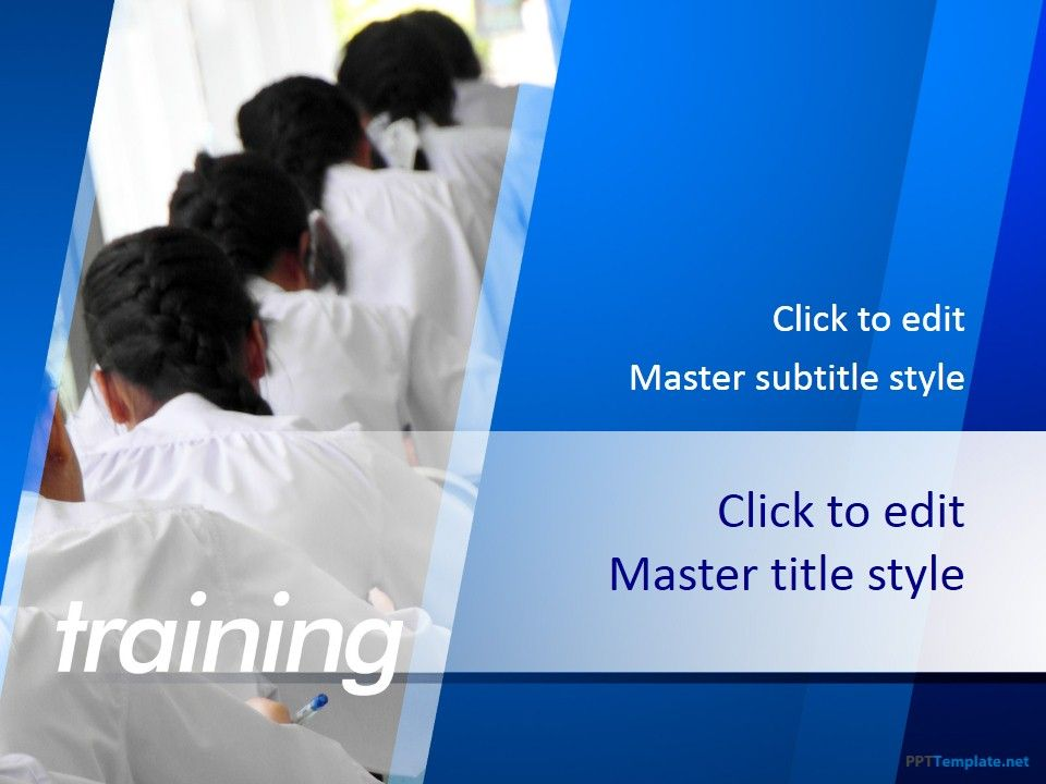 Free Training PPT Template Kiut Pinterest Ppt template - free training templates