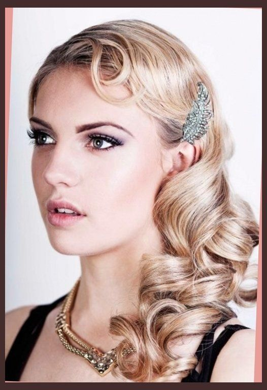 flapper-hairstyles-on-pinterest-headband-bun-1920s-hair ...
