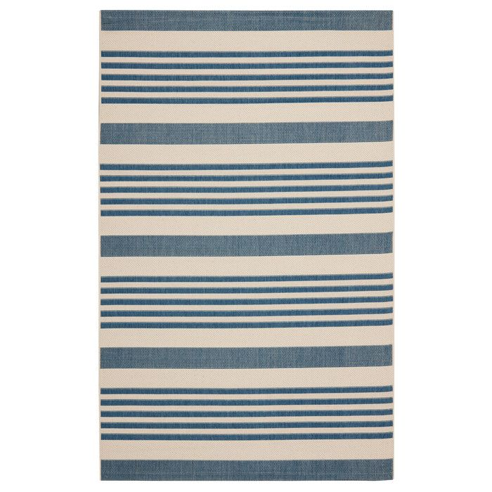 Darby Home Co Bellingdon Blue/Beige Indoor/Outdoor Area Rug & Reviews | Wayfair