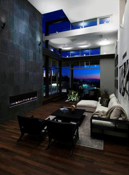 100 Bachelor Pad Living Room Ideas For Men Masculine Designs Luxury Interior Fireplace Design Luxury Living #small #bachelor #pad #living #room #ideas