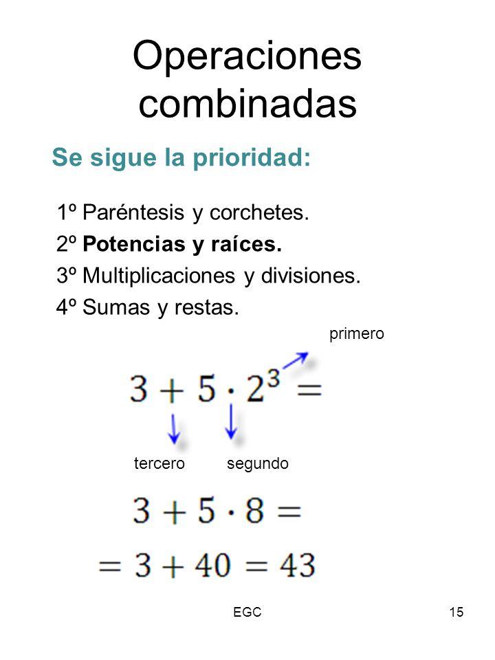 Operaciones Combinadas Con Raiz Y Potencia Buscar Con Google Math Math Equations Equation