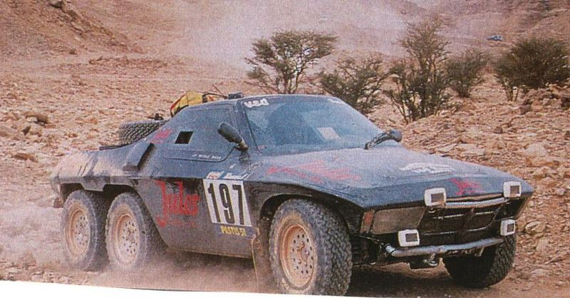 84 Jules Proto 6x4 Paris Dakar Cool Vehicle Design Pinterest