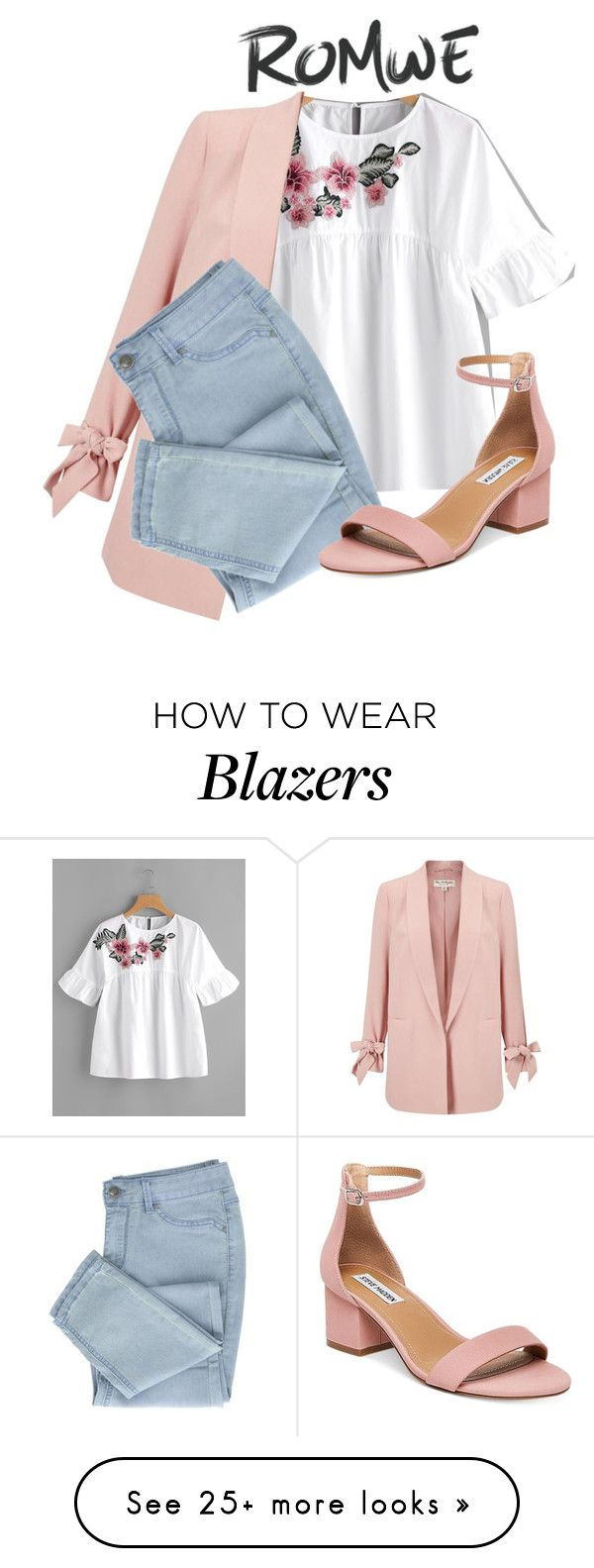 """""""Untitled #73"""" by maia-sandu on Polyvore featuring Miss Selfridge and Steve Madden"""