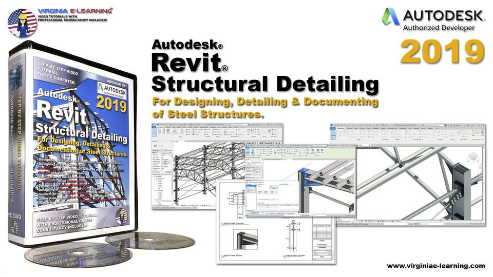Autodesk Revit Structural Detailing 2019 Tutorial em 2020