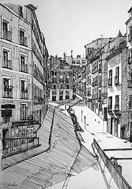 Calle De Madrid Calles De Madrid Galeria De Arte Online Galeria De Arte