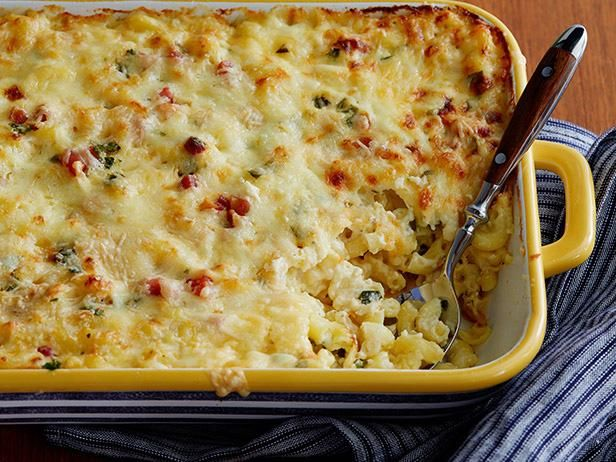 Mac and cheese carbonara recipe macs cheese and pasta get bobby flays mac and cheese carbonara recipe from cooking channel forumfinder Gallery
