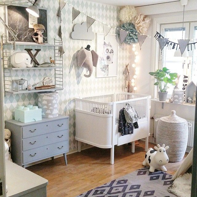 Boho Kids Rooms: Baby Elephant Nursery, Nursery