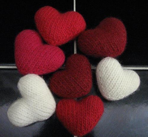 Herz Hkeln Und Stricken Zum Valentinstag Heart Patterns Ravelry