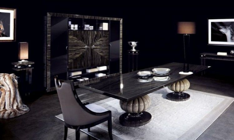 Category Dining Modern Dining Table Black Dining Room Furniture Modern Dining Room Style