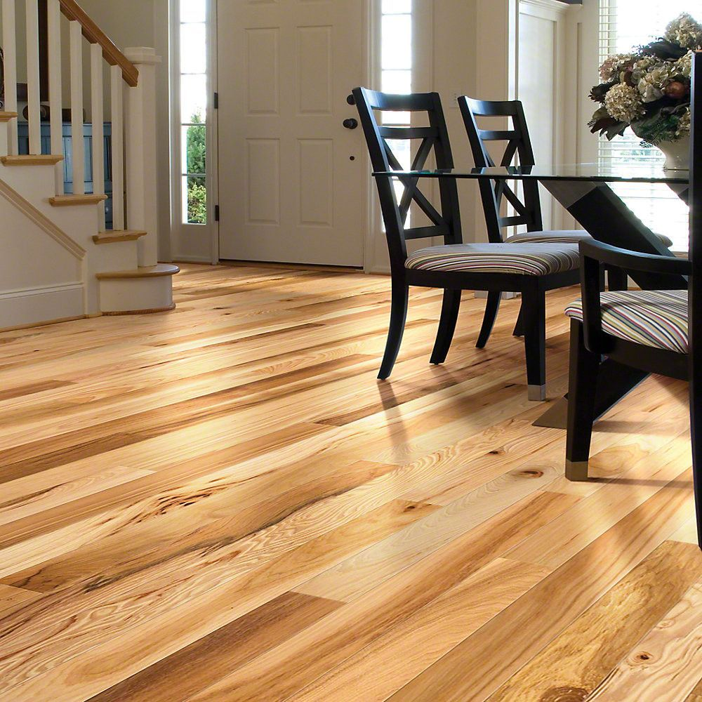 Shaw Floors Lucky Day 3 1 4 Solid Hickory Hardwood Flooring In
