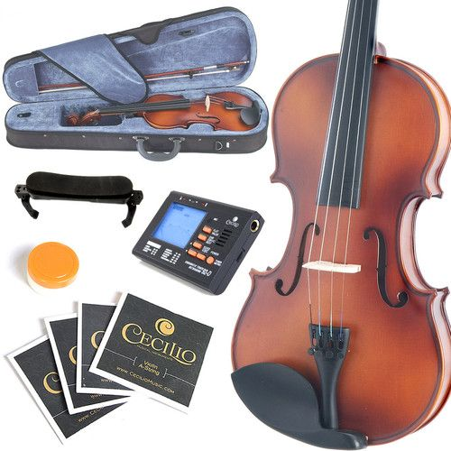 70%OFF~FULL SIZE 4/4 Antique Finish VIOLIN+Lot of Gifts, definitely going to learn to play this beauty