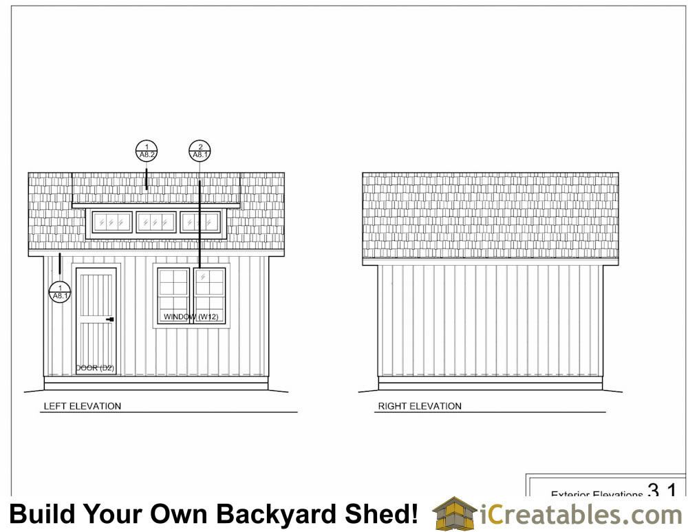 12x12 Shed With Dormer And Loft Plans Shed Plans Storage Shed Plans Cheap Storage Sheds