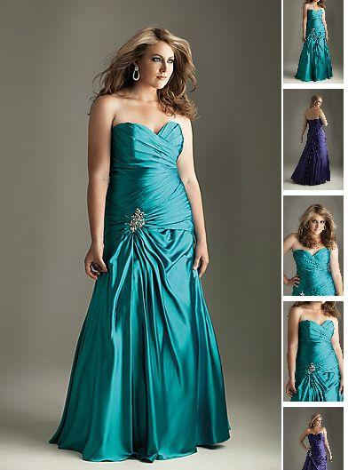 Abendkleid in Größen 40 42 44 46 48 50 52 54 56 58 ...