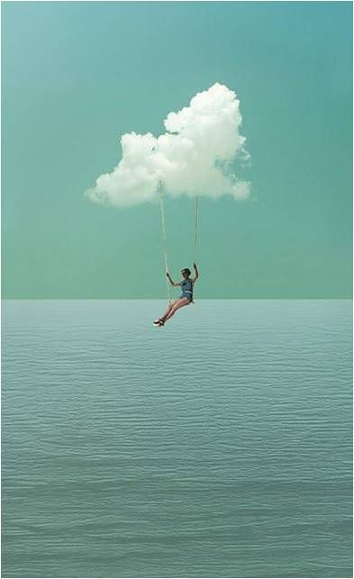I want beautiful day on a swing by the water... peaceful and relaxing just to myself