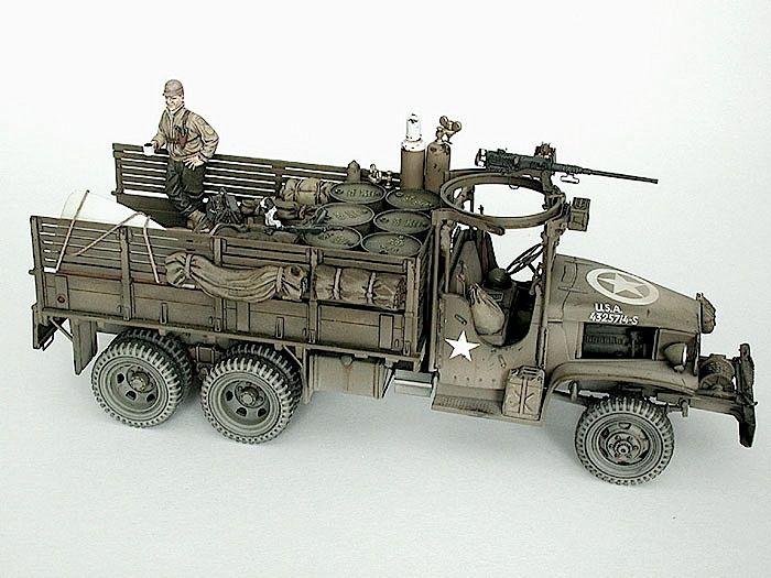 GMC 6x6 2½ ton truck
