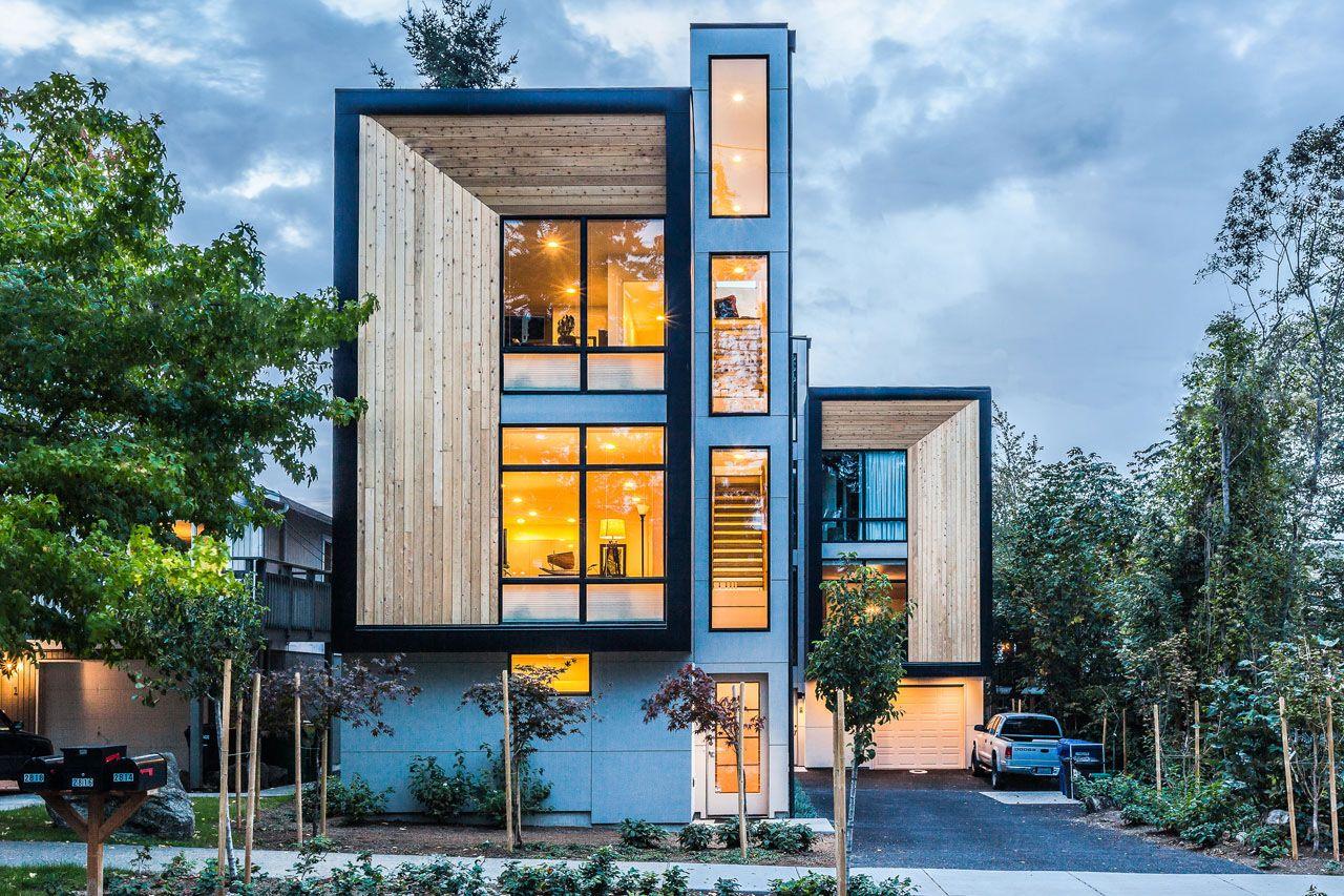 Modern Prefab Modular Townhouses Designed For Urban Living