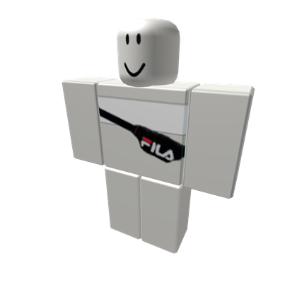 4 White Crop With Fila Pouch Roblox Roblox Shirt Roblox