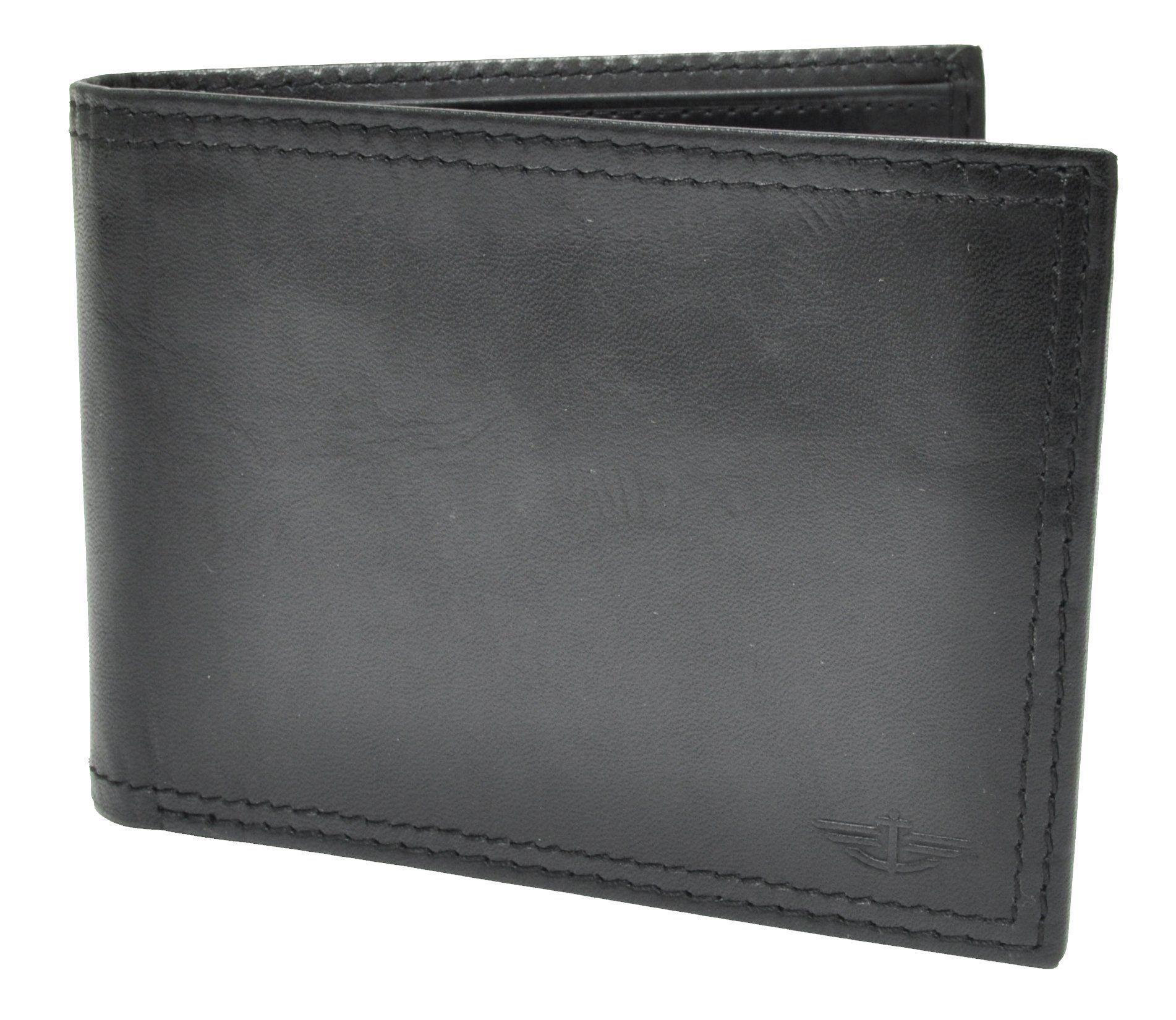 Dockers Men's Leather Slim Bifold Wallet Bi fold wallet