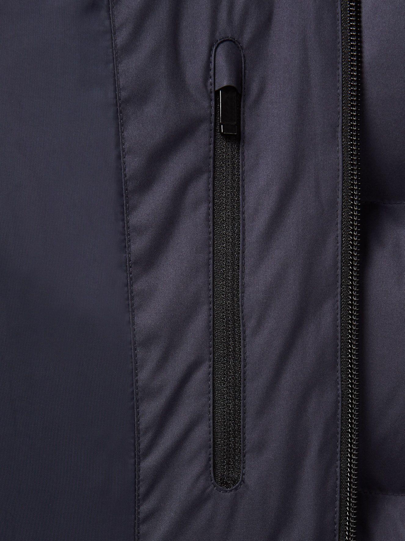 Cazadora Corta De Plumón Azul Marino FW16 9924013   Zegna