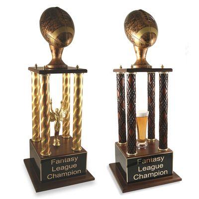 Antique Prestige Fantasy Football Trophy Fantasy Football Trophy Football Trophies Fantasy League