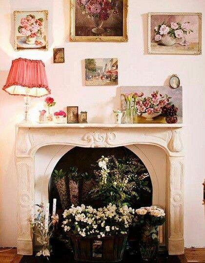 Floral Prints on the Wall