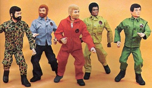 Big Jim and friends. Grandma had these. Always referred to them as GI Joes.